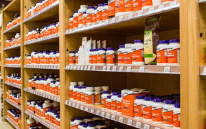 Largest inventory of supplements available